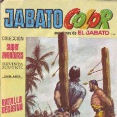 Tebeos: EL JABATO - COLECCION SUPER AVENTURAS - JABATO COLOR - Nº 135 - ED. BRUGUERA AÑO 1976. Lote 203407136