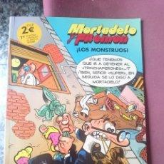 Tebeos: MORTADELO Y FILEMON - LOS MONSTRUOS. Lote 203504656