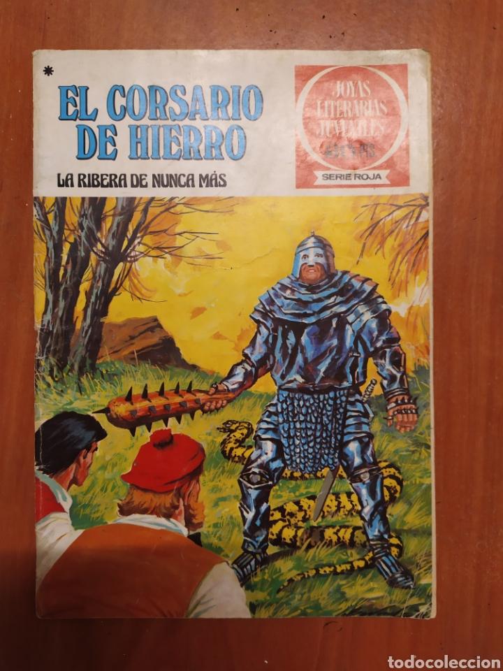 Tebeos: Comics El corsario de hierro, serie Roja, 1977 - Foto 2 - 203506145