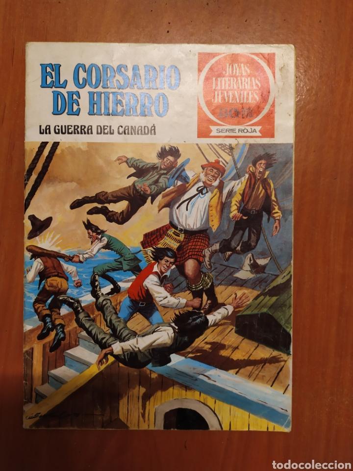 Tebeos: Comics El corsario de hierro, serie Roja, 1977 - Foto 3 - 203506145