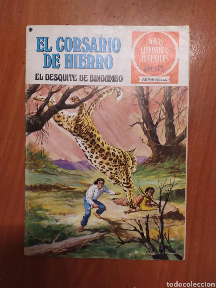 Tebeos: Comics El corsario de hierro, serie Roja, 1977 - Foto 4 - 203506145
