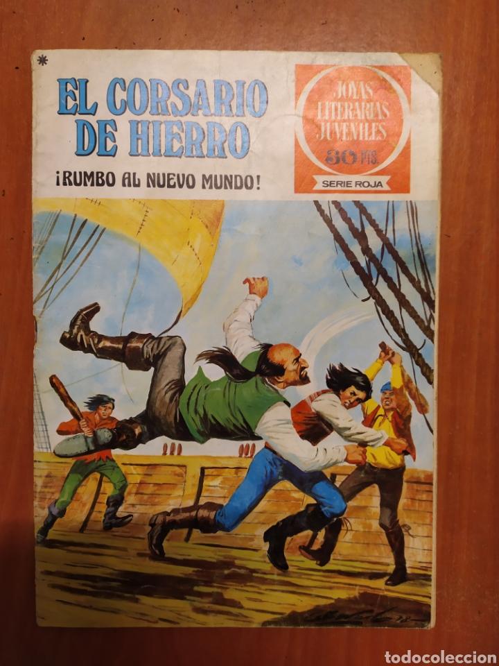 Tebeos: Comics El corsario de hierro, serie Roja, 1977 - Foto 5 - 203506145