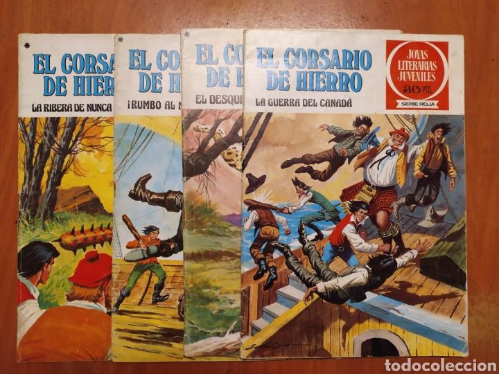 COMICS EL CORSARIO DE HIERRO, SERIE ROJA, 1977 (Tebeos y Comics - Bruguera - Corsario de Hierro)