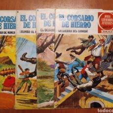 Tebeos: COMICS EL CORSARIO DE HIERRO, SERIE ROJA, 1977. Lote 203506145