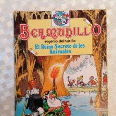Tebeos: BERMUDILLO EL GENIO DEL HATILLO EL REINO SECRETO DE LOS ANIMALES COLECCIÓN BRABO DE BRUGUERA 1982. Lote 203582803