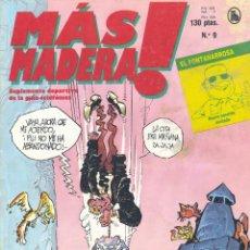 Tebeos: MAS MADERA Nº9. BRUGUERA, 1986. Lote 203629916