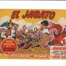 Tebeos: EL JABATO AÑO 1958 COLECCIÓN COMPLETA SON 381 TEBEOS ORIGINALES NUEVOS Y DIFICILES. Lote 203731285