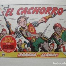 Tebeos: TEBEO DE EL CACHORRO. Lote 203764232