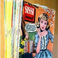 Tebeos: SISSI JUVENIL LOTE DE 65 COMICS EDITORIAL BRUGUERA EN BUEN ESTADO ORIGINALES. AÑOS 60. Lote 203882658