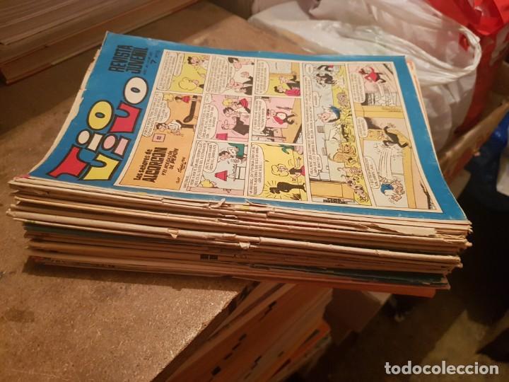 GRAN LOTE 29 TEBEOS/ CÓMIC TIO VIVO ORIGINALES BRUGUERA DE 1968 A 1979 CON MORTADELOS (Tebeos y Comics - Bruguera - Tio Vivo)