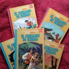 Tebeos: EL CORSARIO DE HIERRO. COMPLETO 5 TOMOS. PRIMERA EDICIÓN 1978-81.. Lote 203935478
