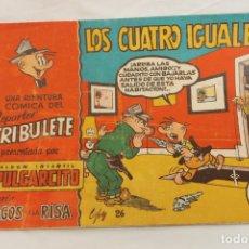 Tebeos: SERIE MAGOS DE LA RISA, ALBUM INFANTIL PULGARCITO, Nº 26 LOS CUATRO IGUALES. Lote 203976280