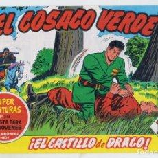 Tebeos: REEDICION FACSIMIL - EL COSACO VERDE - NÚMERO 22: ¡EL CASTILLO DE DRAGO! - PERFECTO ESTADO. Lote 204094028