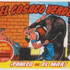 Tebeos: REEDICION FACSIMIL - EL COSACO VERDE - NÚMERO 25: ¡PÁNICO EN EL MAR! - PERFECTO ESTADO. Lote 204094737