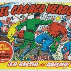 Tebeos: REEDICION FACSIMIL - EL COSACO VERDE - NÚMERO 26: ¡LA BESTIA DEL ABISMO! - PERFECTO ESTADO. Lote 204094948