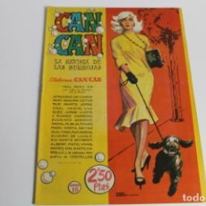Tebeos: CAN CAN Nº 18. Lote 204108973