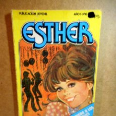 Tebeos: ESTHER Nº 6 : TENGO MIEDO A LOS GUATEQUES. Lote 204116092