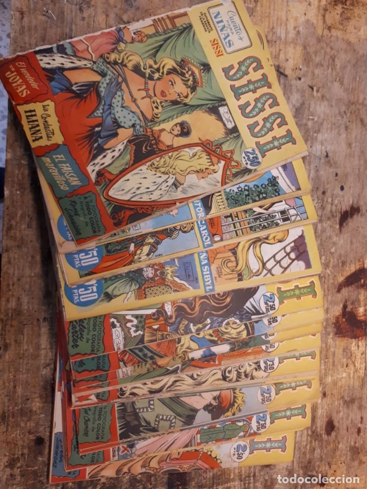 SISSI, 50 PRIMEROS NÚMEROS. (Tebeos y Comics - Bruguera - Sissi)