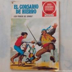 Tebeos: EL CORSARIO DE HIERRO. EN PODER DE SINAU. JOYAS LITERARIAS JUVENILES. BRUGUERA. 1978. VÍCTOR ALCAZAR. Lote 204164350