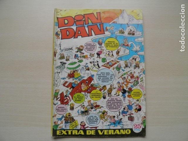 DIN DAN EXTRA DE VERANO (Tebeos y Comics - Bruguera - Din Dan)