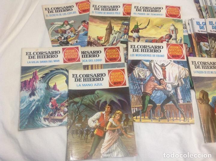 EL CORSARIO DE HIERRO COMPLETA 58 NUMEROS PRIMERA EDICION (Tebeos y Comics - Bruguera - Corsario de Hierro)