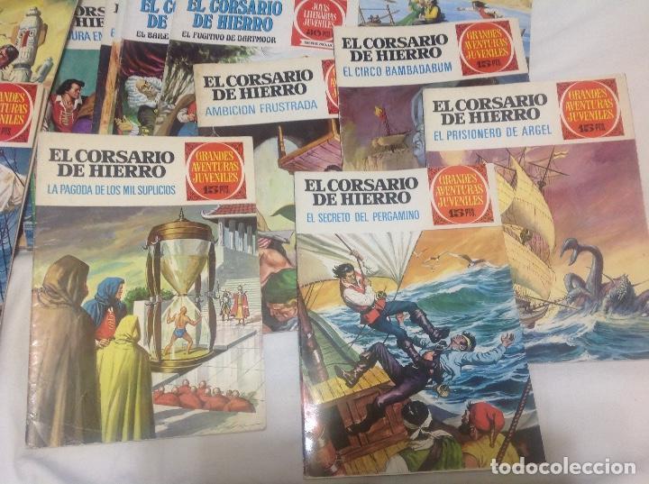Tebeos: EL CORSARIO DE HIERRO COMPLETA 58 NUMEROS PRIMERA EDICION - Foto 2 - 204305408