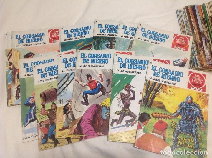 Tebeos: EL CORSARIO DE HIERRO COMPLETA 58 NUMEROS PRIMERA EDICION - Foto 6 - 204305408