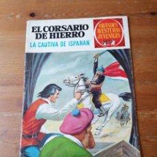 Tebeos: EL CORSARIO DE HIERRO. LA CAUTIVA DE ISPAHAN. Lote 204375790