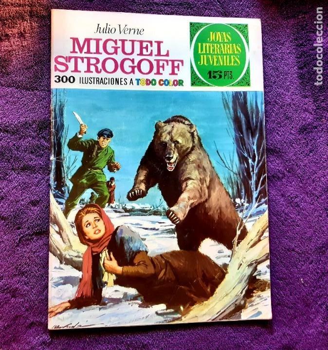 JOYAS LITERARIAS JUVENILES Nº 1 MIGUEL STROGOFF BUEN ESTADO (Tebeos y Comics - Bruguera - Joyas Literarias)