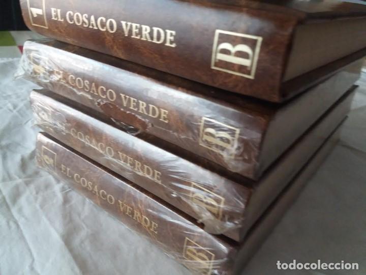 Tebeos: EL COSACO VERDE 4 TOMOS COMPLETA 1996, EDICIONES B, PRECINTADOS TODOS MENOS EL 1º, EDICION DE LUJO. - Foto 2 - 204496058