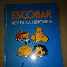 Tebeos: TOMO BRUGUERA ESCOBAR REY DE LA HISTORIETA EDITADO EN TAPA DURA 1985. Lote 204526920