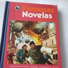 Tebeos: FAMOSAS NOVELAS - VOLUMEN XIII- 3A. ED.- 1982. Lote 204531186