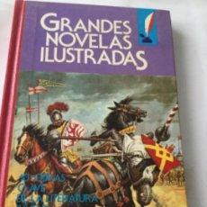 Tebeos: GRANDES NOVELAS ILUSTRADAS- VOLUMEN 4- 1A. ED.- 1985. Lote 204531812
