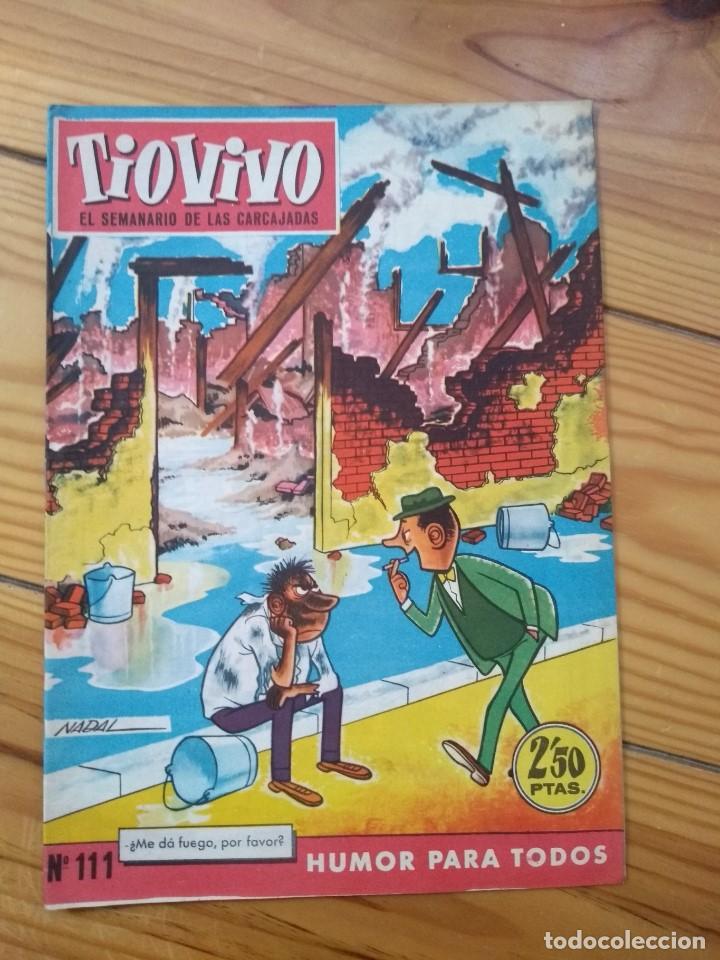 TÍO VIVO Nº 111 - EXCELENTE ESTADO - D4 (Tebeos y Comics - Bruguera - Tio Vivo)