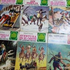 Tebeos: ANTIGUAS REVISTAS JOYAS LITERARIAS JUVENILES BRUGUERA. Lote 204705597
