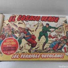 Tebeos: EL COSACO VERDE. 1960. 43 TEBEOS. Lote 204749002