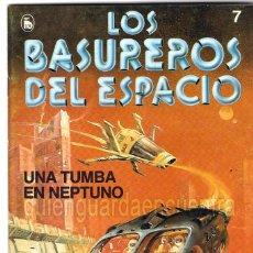 Tebeos: LOS BASUREROS DEL ESPACIO 7-SEMANARIO DE BRUGUERA NOVELADO CON VIÑETAS NUEVO 1986. Lote 204772356