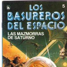 Tebeos: LOS BASUREROS DEL ESPACIO 5-SEMANARIO DE BRUGUERA NOVELADO CON VIÑETAS NUEVO 1986. Lote 204773560