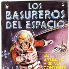 Tebeos: LOS BASUREROS DEL ESPACIO 3-SEMANARIO DE BRUGUERA NOVELADO CON VIÑETAS NUEVO 1986. Lote 204773691