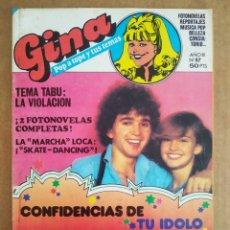 Tebeos: REVISTA GINA N°87 (BRUGUERA, 1980). 'POP A TOPE Y TUS TEMAS'. INCLUYE PÓSTER DE ROD STEWART.. Lote 204773778