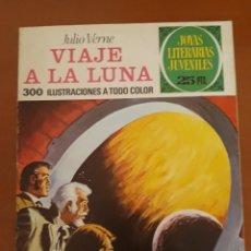 Tebeos: JOYAS LITERARIAS JUVENILES N°72 VIAJE A LA LUNA 1976. Lote 204777871