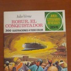 Tebeos: JOYAS LITERARIAS JUVENILES N°113 ROBUR EL CONQUISTADOR 1977. Lote 204778085