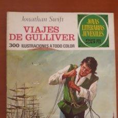 Tebeos: JOYAS LITERARIAS JUVENILES N°105 VIAJES DE GULLIVER 1977. Lote 204779046
