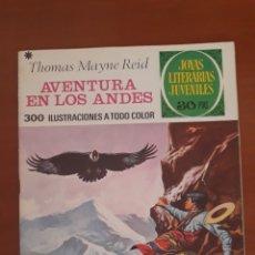 Tebeos: JOYAS LITERARIAS JUVENILES N°130 AVENTURA EN LOS ANDES 1978. Lote 204779557