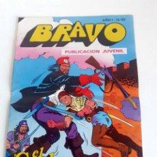 Tebeos: TEBEO BRAVO 1976 EDITORIAL BRUGUERA EL CACHORRO LA FOTALEZA PIRATA Nº67 34. Lote 204805897