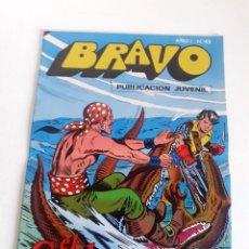 Tebeos: TEBEO BRAVO 1976 EDITORIAL BRUGUERA EL CACHORRO EL RAPTO DE BIMBA Nº43 22. Lote 204806535