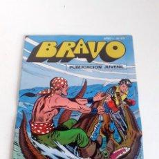 Tebeos: TEBEO BRAVO 1976 EDITORIAL BRUGUERA EL CACHORRO EL RAPTO DE BIMBA Nº43 22. Lote 204806748