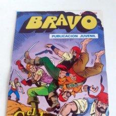 Tebeos: TEBEO BRAVO 1976 EDITORIAL BRUGUERA EL CACHORRO EL TRIUNFO DE UN HEROE Nº69 35. Lote 204807242