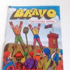 Tebeos: TEBEO BRAVO 1976 EDITORIAL BRUGUERA EL CACHORRO BATALLA NAVAL Nº47 24. Lote 204808235