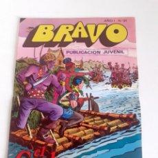 Tebeos: TEBEO BRAVO 1976 EDITORIAL BRUGUERA EL CACHORRO ENCUENTRO INESPERADO Nº31 16. Lote 204808610